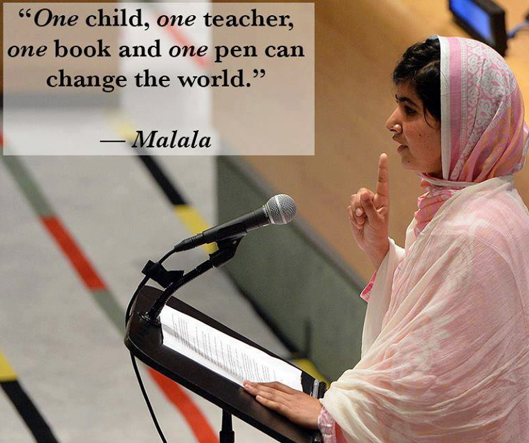 Pakistan: Malala Yousafzai's Speech at UN, 2013