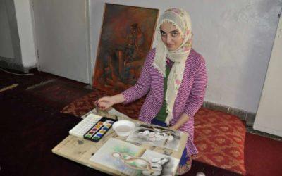 Pakistan: Afghan Refugee, Manizha's Brush Tells A Story