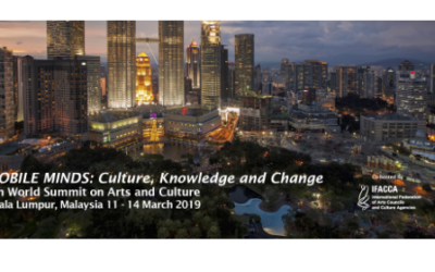 8th World Summit on Arts and Culture Theme Announced