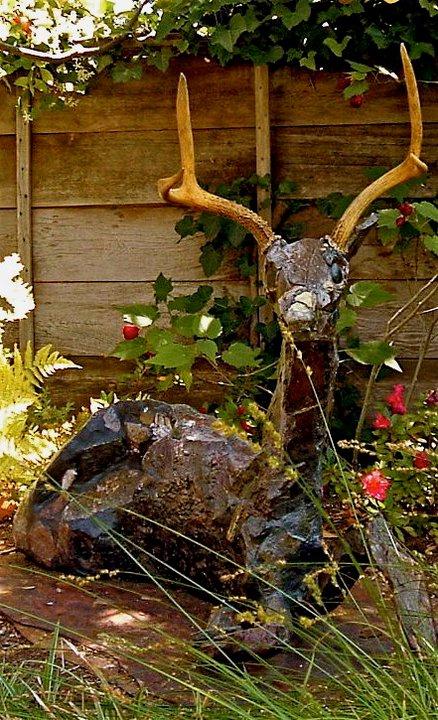 Reclining Deer