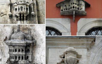 Elaborate Birdhouses Resembling Miniature Palaces Built in Ottoman-Era Turkey