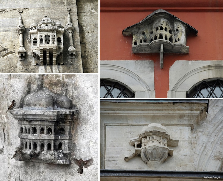 Elaborate Birdhouses Resembling Miniature Palaces Built in Ottoman-Era Turkey