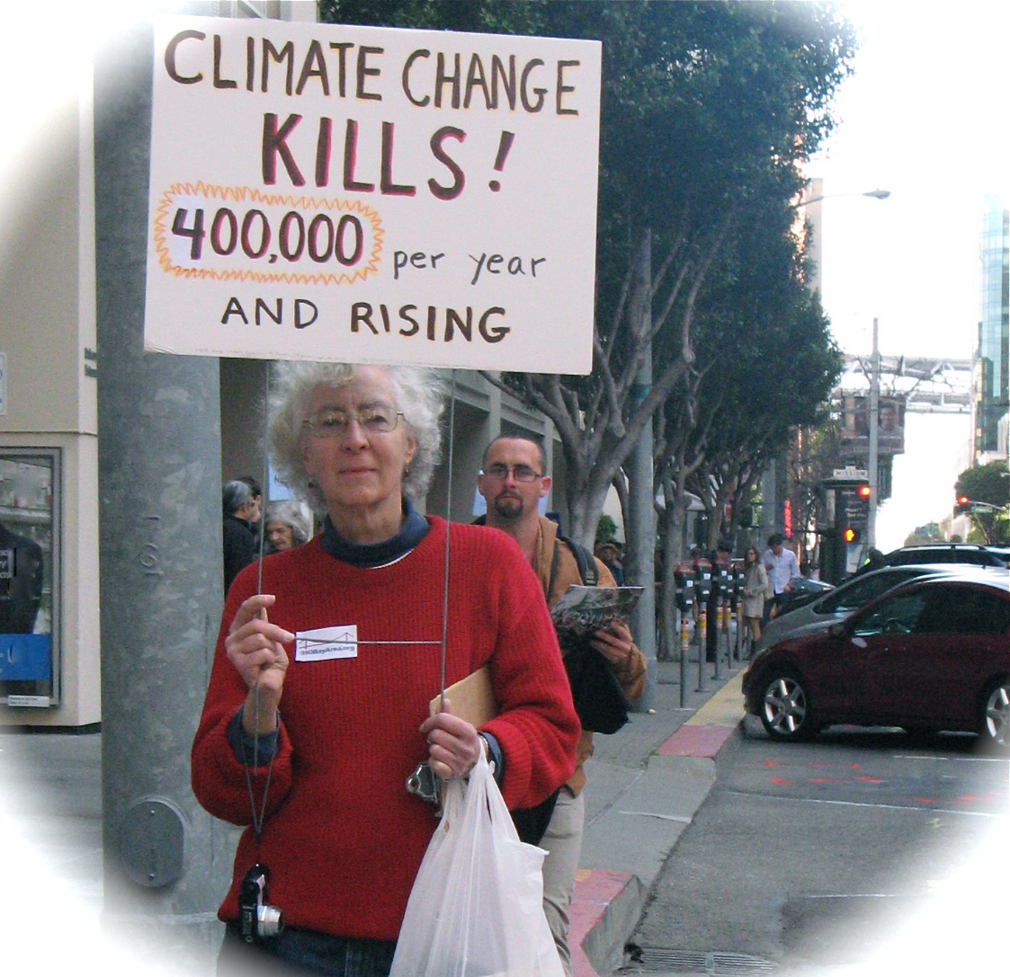 2012 &  2013 / Climate Change, Art & Demonstrations In San Francisco
