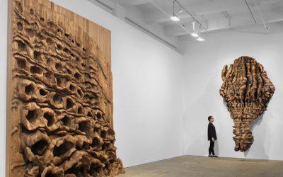 Ursula Von Rydingsvard Infills Galerie Lelong with 'Fierce' Large-Scale Sculptures