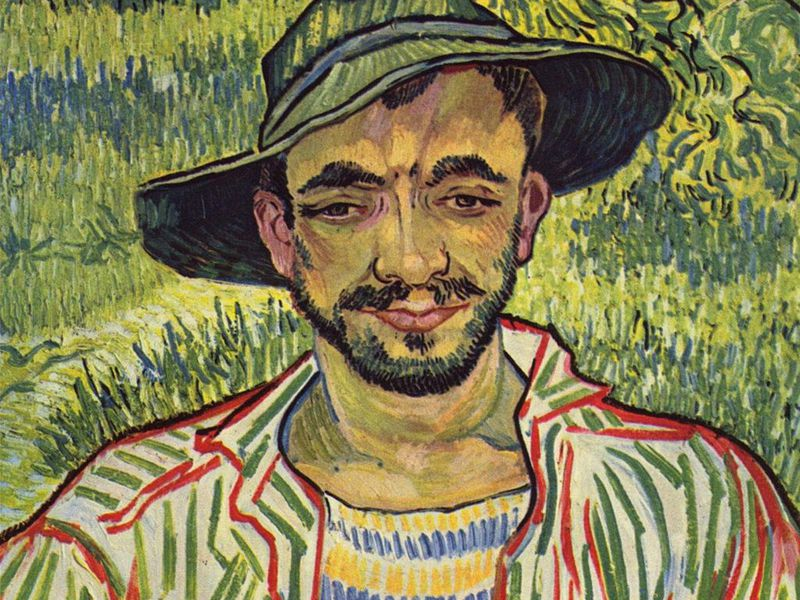 """Historian Identifies Subject of Van Gogh's """"Gardener"""""""